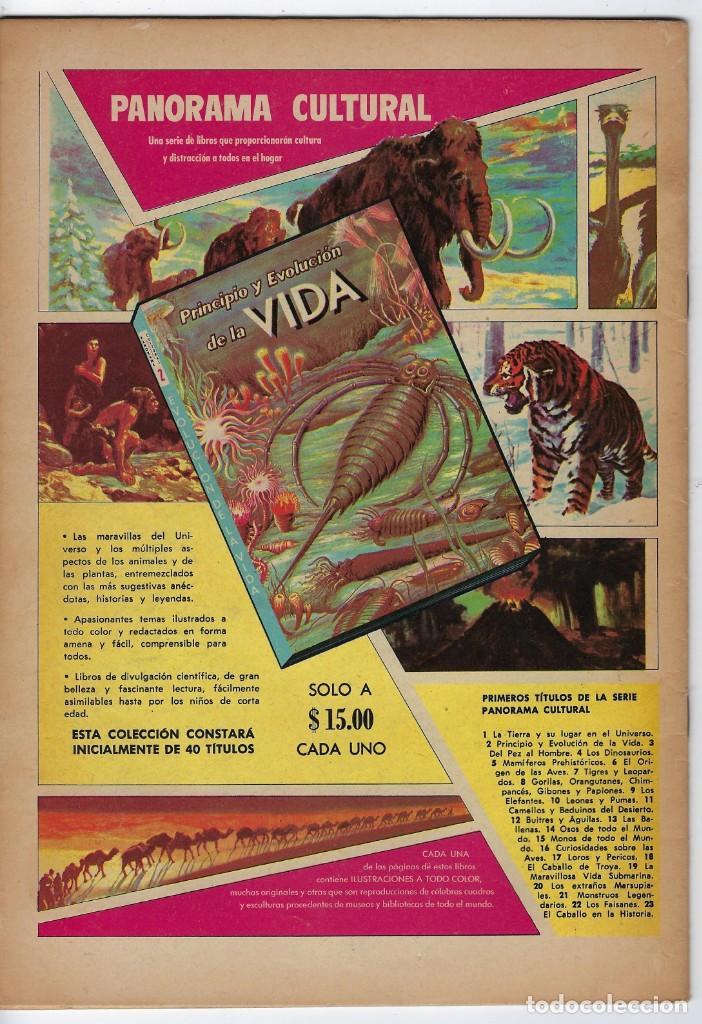 Tebeos: VIDAS ILUSTRES: LA JUVENTUD DE BEETHOVEN - AÑO VII, Nº 84 - ENERO 1º DE 1963 ** EDITORIAL NOVARO ** - Foto 2 - 245560165