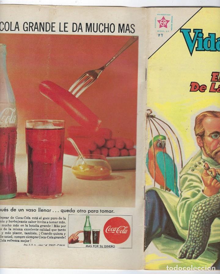 Tebeos: VIDAS ILUSTRES: KOCH EL VENCEDEDOR DE LA... AÑO VII - Nº 79 - AGO. 1º DE 1962 ** EDITORIAL NOVARO ** - Foto 3 - 245561050