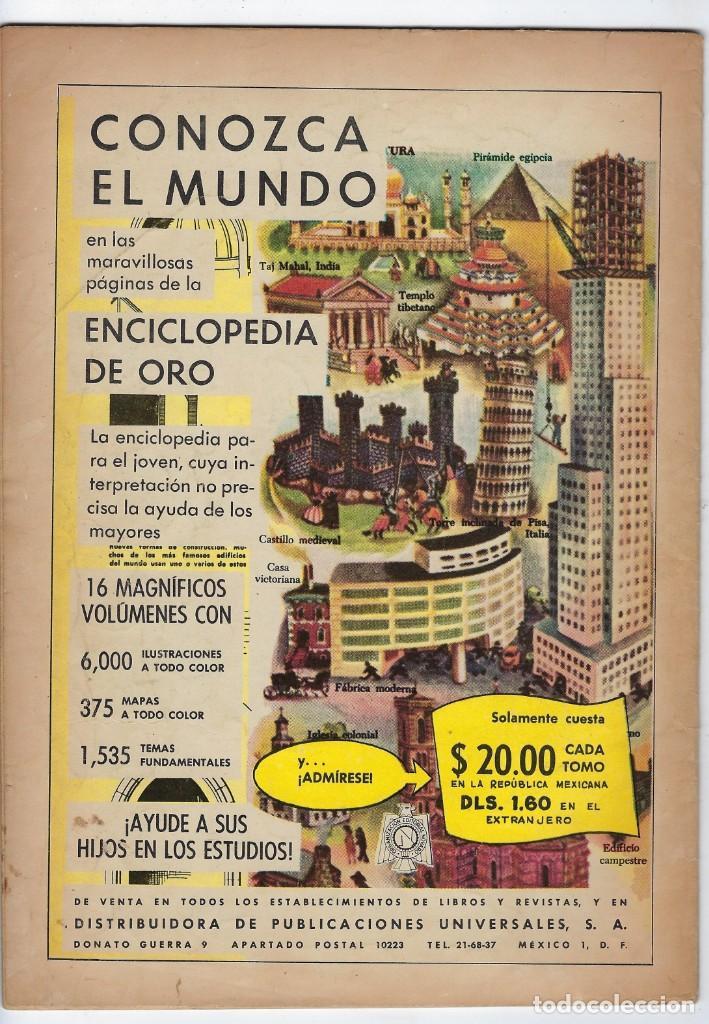 Tebeos: VIDAS ILUSTRES: TESLA INVENTOR DEL SIGLO XX - AÑO VI - Nº 71 - DIC. 1º DE 1961 **EDITORIAL NOVARO** - Foto 2 - 245561570