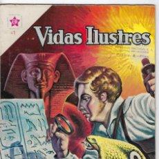 Tebeos: VIDAS ILUSTRES: CHAMPOLLION Y LOS JEROGLÍFICOS - AÑO VI - Nº 67 - AGO. 1º DE 1961 *EDITORIAL NOVARO*. Lote 245562010