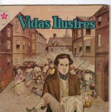 Tebeos: VIDAS ILUSTRES: LA JUVENTUD DE VICTOR HUGO - AÑO VI - Nº 63 - ABRIL 1º DE 1961 * EDITORIAL NOVARO *. Lote 245562475