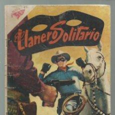 Tebeos: EL LLANERO SOLITARIO 62, 1958, NOVARO. COLECCIÓN A.T.. Lote 245564895