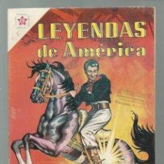Tebeos: LEYENDAS DE AMÉRICA 65: LAS ESPUELAS PRODIGIOSAS, 1961, NOVARO, BUEN ESTADO. COLECCIÓN A.T.. Lote 245565760