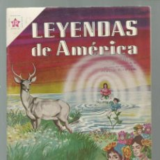 Tebeos: LEYENDAS DE AMÉRICA 64: FLOR DEL AGUA, 1961, NOVARO, BUEN ESTADO. COLECCIÓN A.T.. Lote 245566030