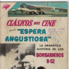 Tebeos: CLÁSICOS DE CINE: BOMBARDEROS B-52, ESPERA ANGUSTIOSA - AÑO IV - Nº 41 - ABR. 1º DE 1960 **NOVARO**. Lote 245566105