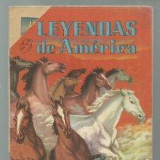 Tebeos: LEYENDAS DE AMÉRICA 63: VOLVIERON LOS CABALLOS, 1961, NOVARO. COLECCIÓN A.T.. Lote 245566395