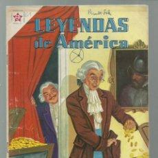 Tebeos: LEYENDAS DE AMÉRICA 61: EN EL ARCA ABIERTA ..., 1961, NOVARO. COLECCIÓN A.T.. Lote 245567150