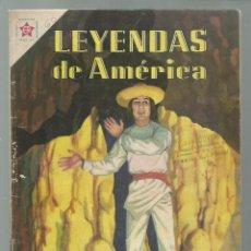 Tebeos: LEYENDAS DE AMÉRICA 60: LA SOMBRA 1961, NOVARO. COLECCIÓN A.T.. Lote 245567505