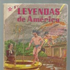 Tebeos: LEYENDAS DE AMÉRICA 59: EL POZO ENCANTADO 1961, NOVARO. COLECCIÓN A.T.. Lote 245567795