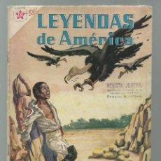 Tebeos: LEYENDAS DE AMÉRICA 58: EL FUGITIVO 1960, NOVARO. COLECCIÓN A.T.. Lote 245568100