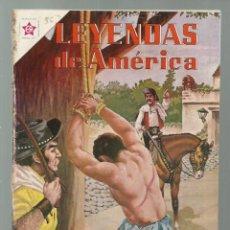 Tebeos: LEYENDAS DE AMÉRICA 56¨: LA SEÑAL 1960, NOVARO, ENCUADERNACIÓN. COLECCIÓN A.T.. Lote 245568570