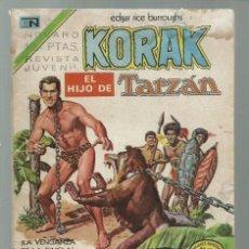 Tebeos: KORAK, EL HIJO DE TARZAN 20, 1973, NOVARO. COLECCIÓN A.T.. Lote 245569460