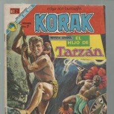Tebeos: KORAK, EL HIJO DE TARZAN 15, 1973, NOVARO, BUEN ESTADO. COLECCIÓN A.T.. Lote 245569670