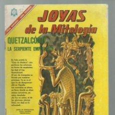 Tebeos: JOYAS DE LA MITOLOGÍA 52: QUETZALCOATL, LA SERPIENTE EMPLUMADA, 1966, NOVARO. COLECCIÓN A.T.. Lote 245573570