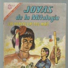 Tebeos: JOYAS DE LA MITOLOGÍA 51: LAS DONCELLAS DEL MAIZ, 1966, NOVARO, BUEN ESTADO. COLECCIÓN A.T.. Lote 245573800