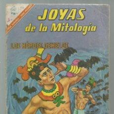 Tebeos: JOYAS DE LA MITOLOGÍA 50: LOS HÉROES GEMELOS, 1966, NOVARO, BUEN ESTADO. COLECCIÓN A.T.. Lote 245574030
