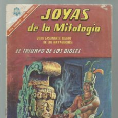 Tebeos: JOYAS DE LA MITOLOGÍA 48: EL TRIUNFO DE LOS DIOSES, 1966, NOVARO, BUEN ESTADO. COLECCIÓN A.T.. Lote 245574225