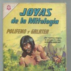 Tebeos: JOYAS DE LA MITOLOGÍA 46: POLIFEMO Y GALATEA, 1966, NOVARO, BUEN ESTADO. COLECCIÓN A.T.. Lote 245574650