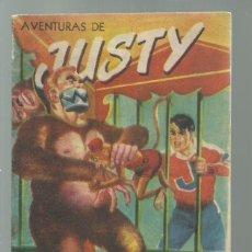 Tebeos: AVENTURAS DE JUSTY 36 1954, PUBLICACIONES UNIVERSALES, BUEN ESTADO. COLECCIÓN A.T.. Lote 245576165