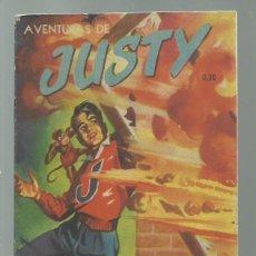 Tebeos: AVENTURAS DE JUSTY 35 1954, PUBLICACIONES UNIVERSALES, BUEN ESTADO. COLECCIÓN A.T.. Lote 245576465