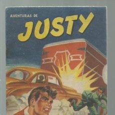 Tebeos: AVENTURAS DE JUSTY 49 1954, PUBLICACIONES UNIVERSALES, BUEN ESTADO. COLECCIÓN A.T.. Lote 245576720