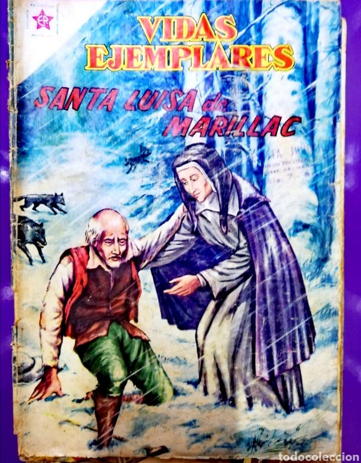 SANTA LUISA DE MARILLACH (Tebeos y Comics - Novaro - Vidas ejemplares)