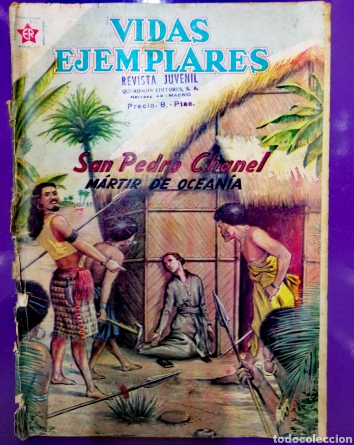 SAN PEDRO CHANEL (Tebeos y Comics - Novaro - Vidas ejemplares)