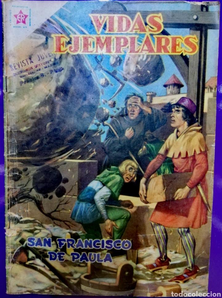 SAN FRANCISCO DE PAULA (Tebeos y Comics - Novaro - Vidas ejemplares)