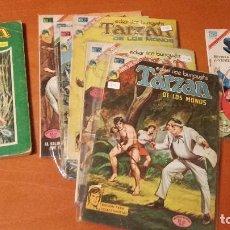 Tebeos: LOTE 9 EJEMPLARES SUPERMAN TARZAN EDITORIAL NOVARO. Lote 245761510