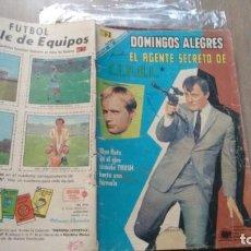 Tebeos: DOMINGOS ALEGRES - NUMERO 729 - EL AGENTE SECRETO DE C.I.P.O.L. -. Lote 245789115