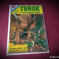Tebeos: TUROK Nº 27 -NOVARO - IMPECABLE ESTADO -. Lote 245921875