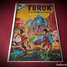 Tebeos: TUROK Nº 44 -NOVARO - IMPECABLE ESTADO -. Lote 245922110
