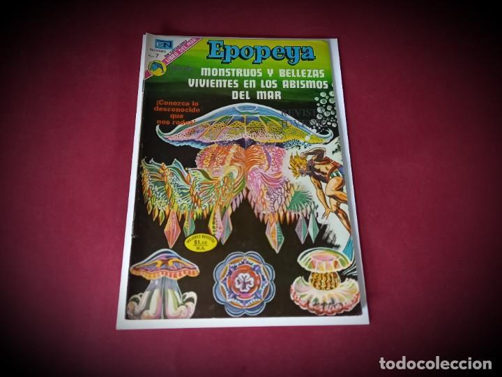 EPOPEYA Nº 210 -NOVARO - EXCELENTE ESTADO (Tebeos y Comics - Novaro - Otros)