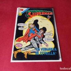 Tebeos: SUPERMAN Nº 879 -NOVARO -EXCELENTE ESTADO. Lote 246064260
