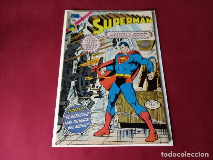 SUPERMAN Nº 896 -NOVARO -EXCELENTE ESTADO (Tebeos y Comics - Novaro - Superman)