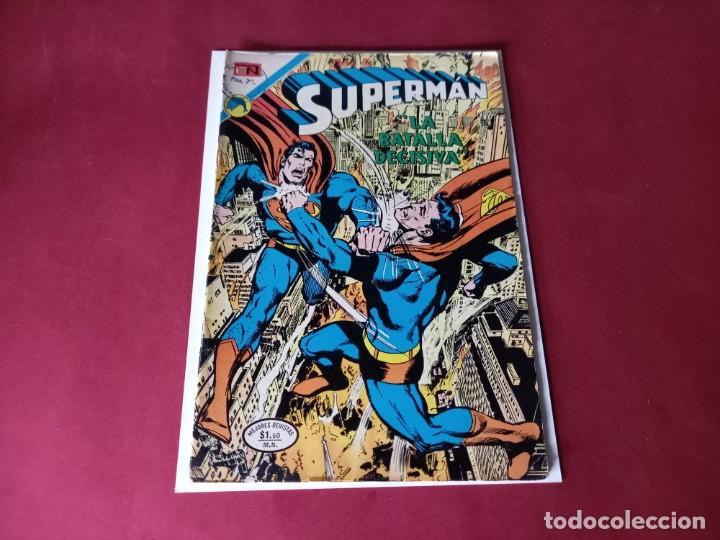 SUPERMAN Nº 902 -NOVARO -EXCELENTE ESTADO (Tebeos y Comics - Novaro - Superman)