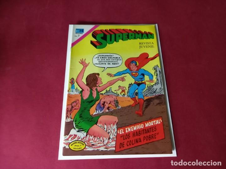 SUPERMAN Nº 889 -NOVARO -EXCELENTE ESTADO (Tebeos y Comics - Novaro - Superman)