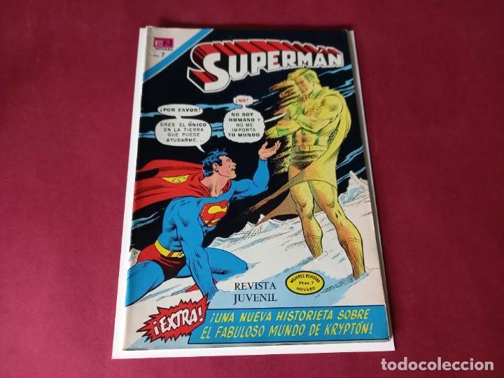 SUPERMAN Nº 887 -NOVARO -EXCELENTE ESTADO (Tebeos y Comics - Novaro - Superman)