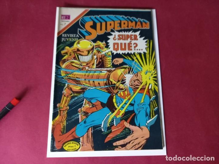 SUPERMAN Nº 852 -NOVARO -EXCELENTE ESTADO (Tebeos y Comics - Novaro - Superman)