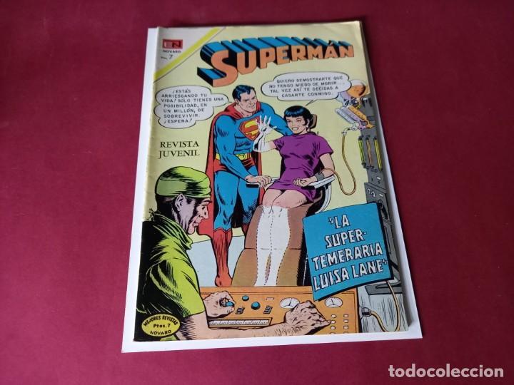 SUPERMAN Nº 833 -NOVARO -EXCELENTE ESTADO (Tebeos y Comics - Novaro - Superman)
