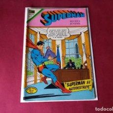 Tebeos: SUPERMAN Nº 830 -NOVARO -EXCELENTE ESTADO. Lote 246066385