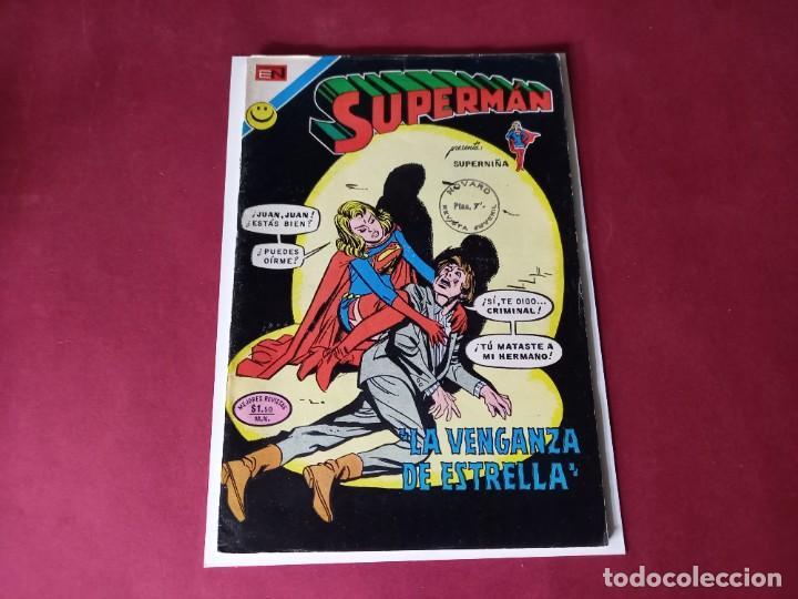 SUPERMAN Nº 879 -NOVARO -EXCELENTE ESTADO (Tebeos y Comics - Novaro - Superman)