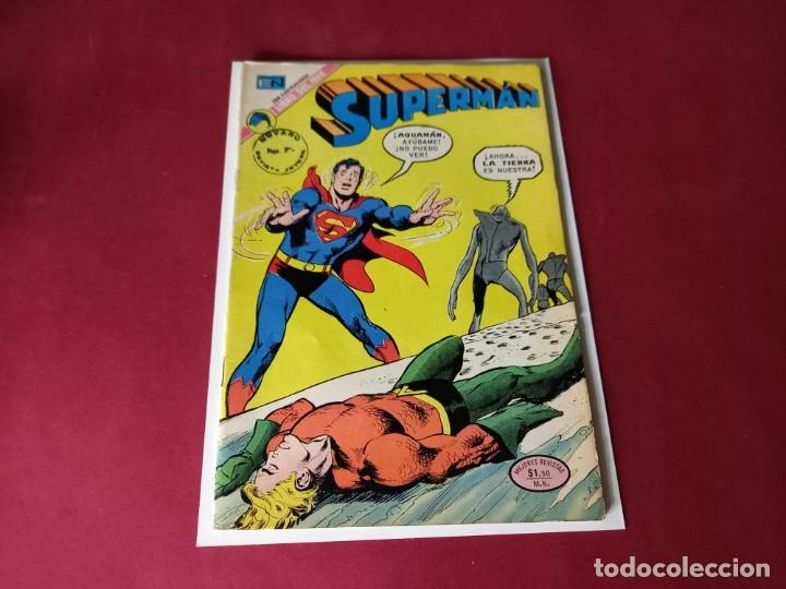 SUPERMAN Nº 917 -NOVARO -EXCELENTE ESTADO (Tebeos y Comics - Novaro - Superman)