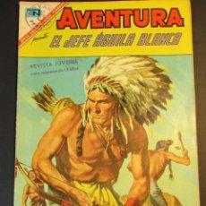 Tebeos: AVENTURA (1954, SEA / NOVARO) 479 · 14-III-1967 · EL JEFE AGUILA BLANCA. Lote 246632415