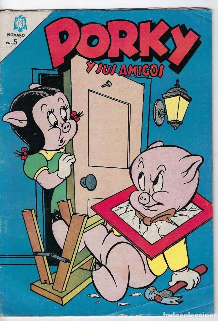 PORKY Y SUS AMIGOS - AÑO XV - Nº 177 - JUNIO 1º DE 1966 *** EDITORIAL NOVARO MÉXICO *** (Tebeos y Comics - Novaro - Porky)