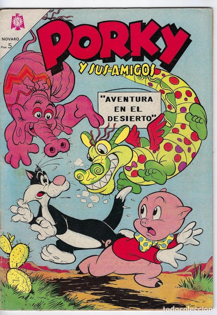 PORKY Y SUS AMIGOS - AÑO XIV - Nº 170 - NOVIEMBRE 1º DE 1965 *** EDITORIAL NOVARO MÉXICO *** (Tebeos y Comics - Novaro - Porky)