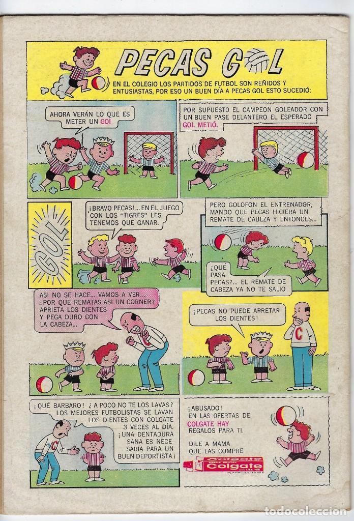 Tebeos: PORKY Y SUS AMIGOS - AÑO XIV - Nº 170 - NOVIEMBRE 1º DE 1965 *** EDITORIAL NOVARO MÉXICO *** - Foto 2 - 246634020