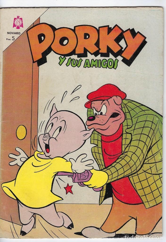 PORKY Y SUS AMIGOS - AÑO XIV - Nº 164 - MAYO 1º DE 1965 *** EDITORIAL NOVARO MÉXICO *** (Tebeos y Comics - Novaro - Porky)