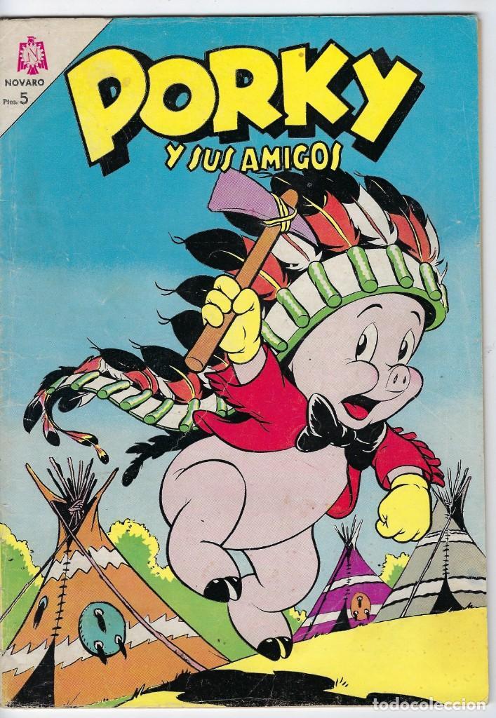 PORKY Y SUS AMIGOS - AÑO XIV - Nº 160 - ENERO 1º DE 1965 *** EDITORIAL NOVARO MÉXICO *** (Tebeos y Comics - Novaro - Porky)