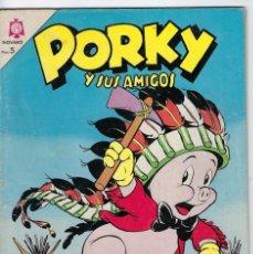 Tebeos: PORKY Y SUS AMIGOS - AÑO XIV - Nº 160 - ENERO 1º DE 1965 *** EDITORIAL NOVARO MÉXICO ***. Lote 246634705